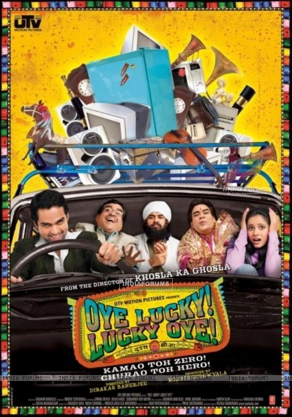Poster of Oye Lucky! Lucky Oye! movie (12641)