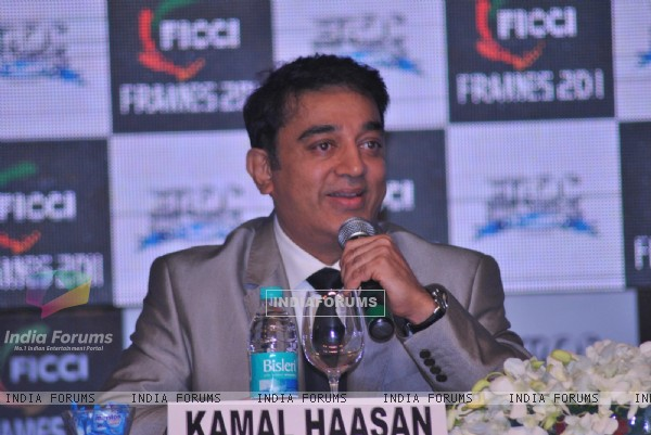 Kamal Haasan at inaugration of 'FICCI-FRAMES 2011's