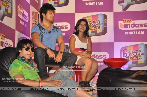 Press meet of UTV bindass new show 'Meri Toh Lag Gayi... Naukari'