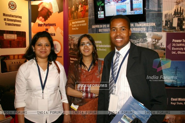 "Delegats at the ""7th CII-Exim Bank Conclave on India Africa Project Partnership 2011"",in New Delhi"