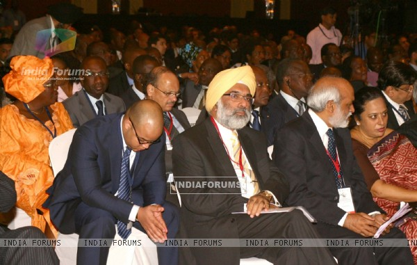 Delegates at the inauguration of ''7th CII-Exim Bank Conclave on India Africa Project Partnership 2011
