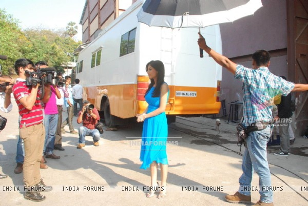 Amrita Rao at Love U... Mr. Kalakaar! Promo Shoot in Filmcity (127772)