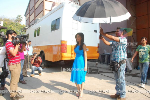 Amrita Rao at Love U... Mr. Kalakaar! Promo Shoot in Filmcity (127773)
