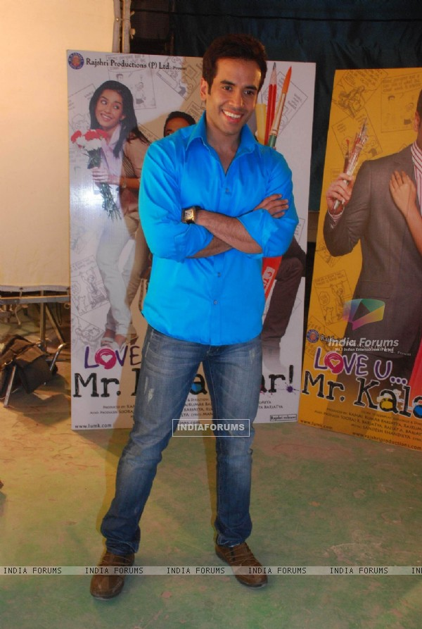 Tusshar Kapoor at Love U... Mr. Kalakaar! Promo Shoot in Filmcity (127775)