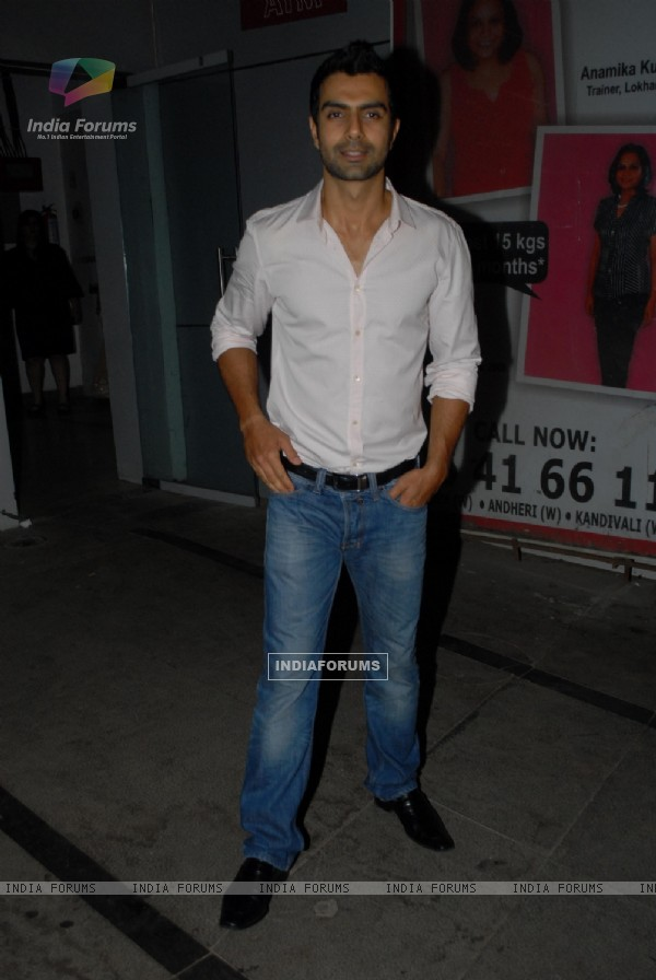 Ashmit Patel at Nikhil Dwivedi's wedding Reception party at Escobar