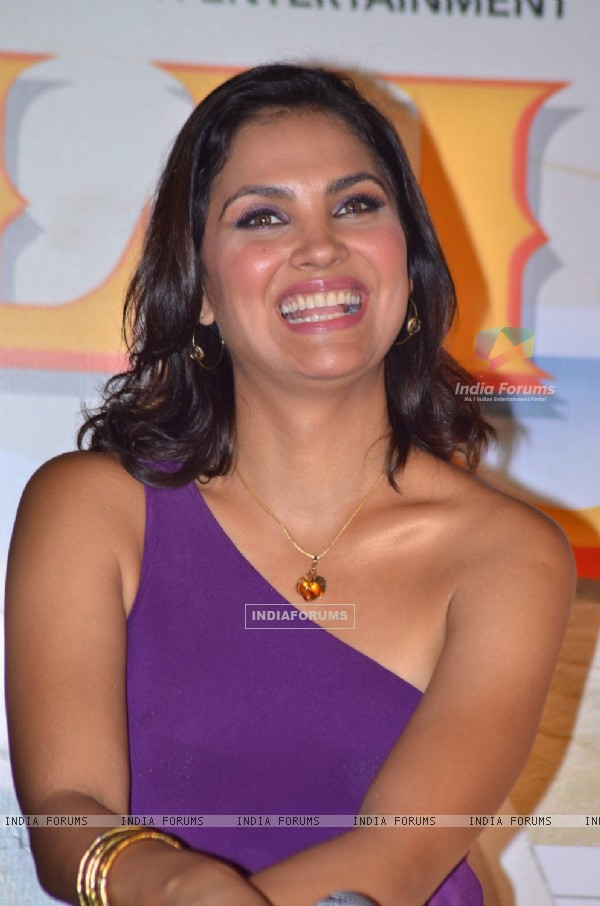 Lara promote Chalo Dilli film at Cinemax. .