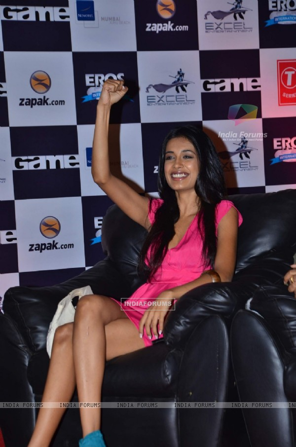 Sarah Jane Dias at Zapak.com Game film event at Novotel. . (128214)