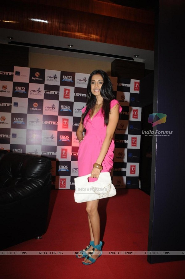 Sarah Jane Dias at Zapak.com Game film event at Novotel. . (128303)