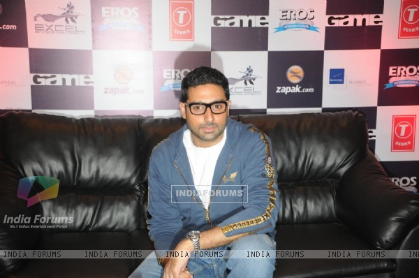 Abhishek Bachchan at Zapak.com Game film event at Novotel (128309)