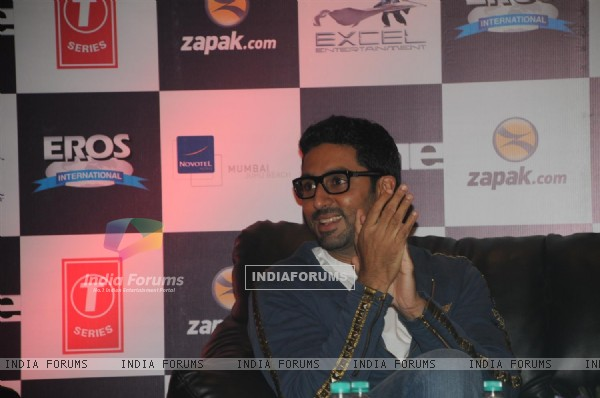 Abhishek Bachchan at Zapak.com Game film event at Novotel (128313)