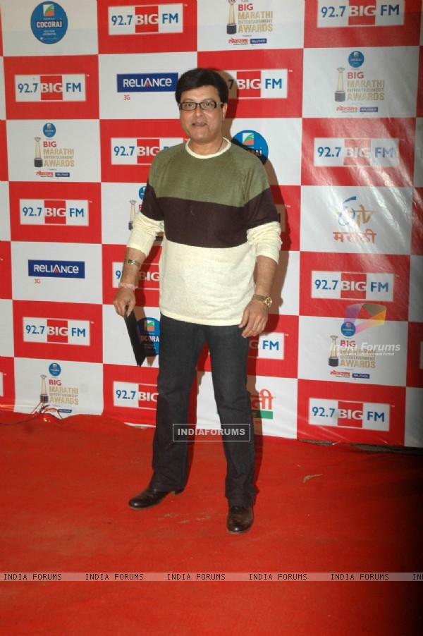 Sachin Pilgaonkar at Big Marathi Awards at Tulip Star