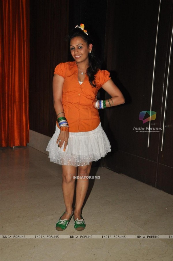 Ashita Dhawan at Odyssey corp. Ltd. celebrates grand celebration of World cup 2011 at Novotal hotel