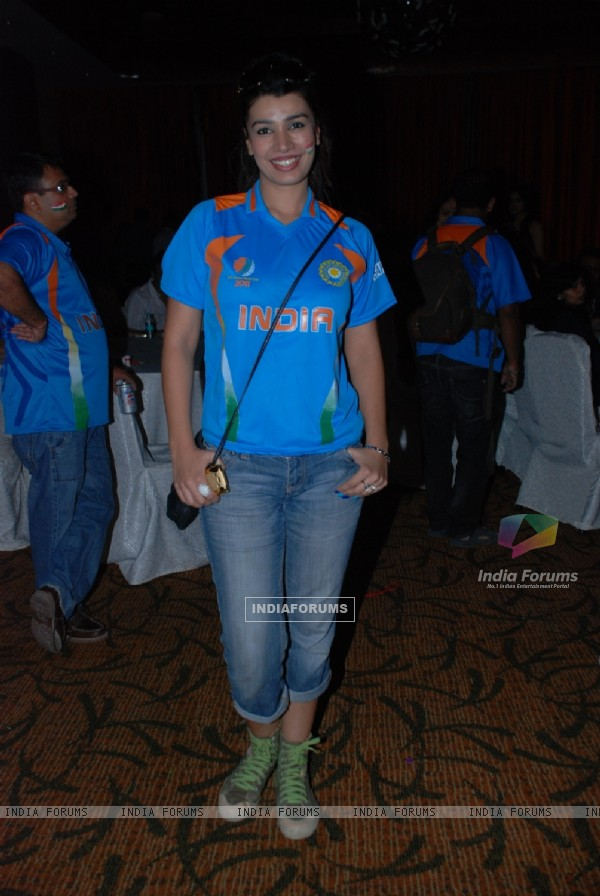 Mink Brar at Odyssey corp. Ltd. celebrates grand celebration of World cup 2011 at Novotal hotel