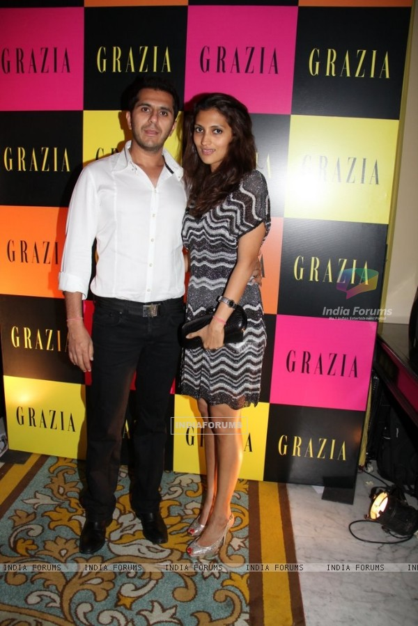 Celeb at Grazia Magazine 3rd Anniversary in style