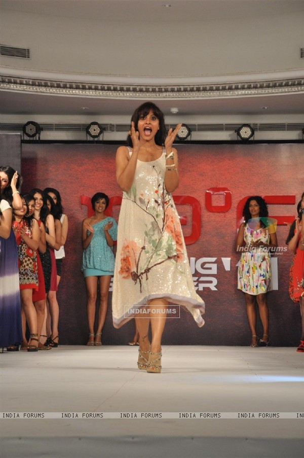 Model walk for 109 F launch at Mayfair Rooms, Mumbai