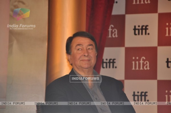 Randhir Kapoor at IIFA-Raj Kapoor event at JW Marriott, Juhu, Mumbai