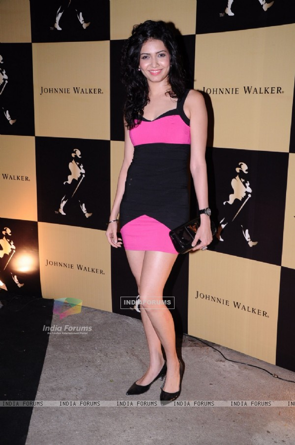 Karishma Tanna grace Johnie Walker-Mika hakkinen bash at Tote, Mahalakshmi in Mumbai