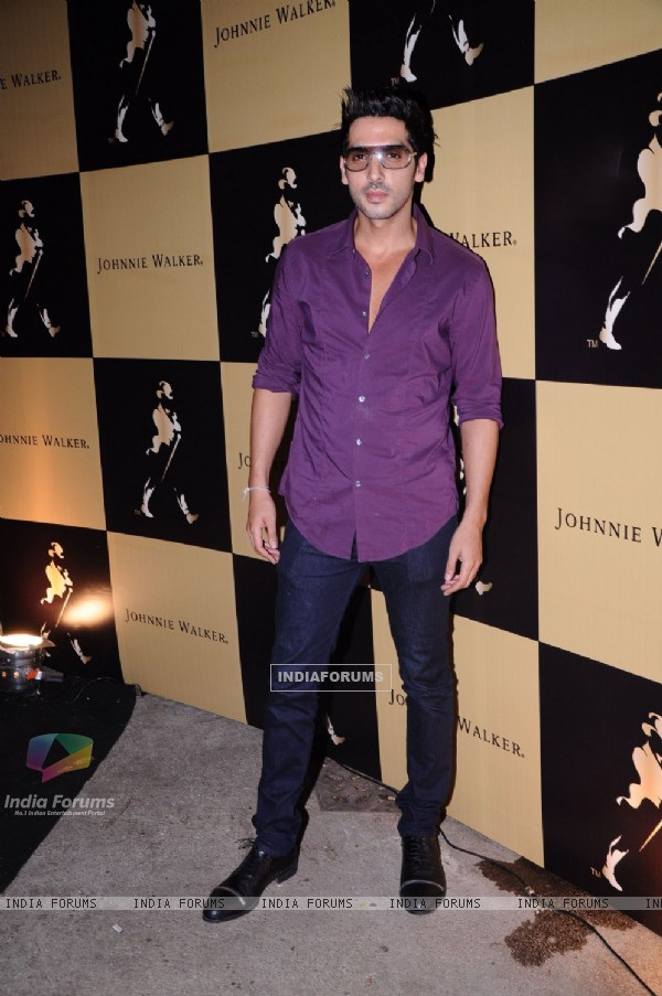 Zayed Khan grace Johnie Walker-Mika hakkinen bash at Tote, Mahalakshmi in Mumbai on Thursday Night. .