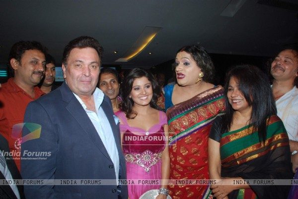 Rishi Kapoor at the launch of music Queens Destiny of Dance film starring Seema Biswas in Cinemax