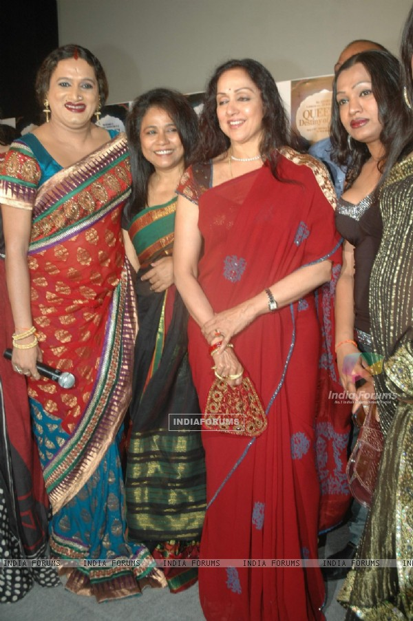 Hema Malini launch the music of Queens Destiny of Dance film starring Seema Biswas in Cinemax. .