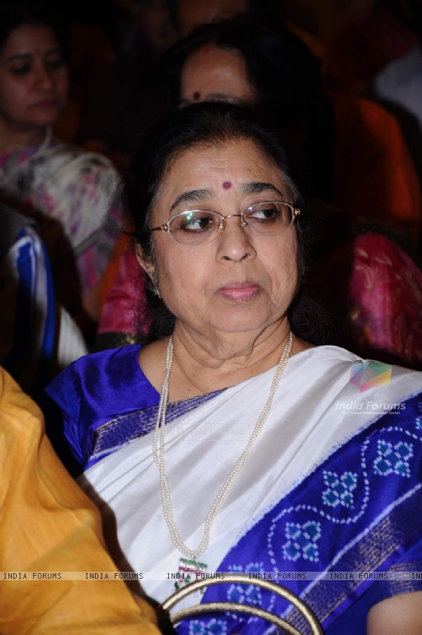 Usha Mangeshkar at the Music Launch of Sarhadein by Sa Re Ga Ma and Radiocity at Taj