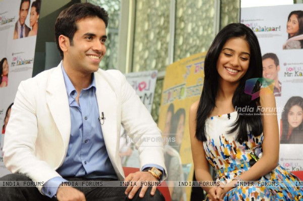 Tusshar Kapoor and Amrita Rao at Love U... Mr. Kalakaar! music Launch at Cinemax, Mumbai (130020)