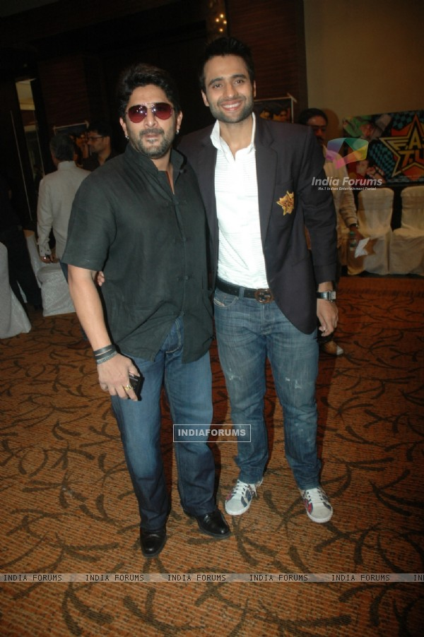 Arshad Warsi and Jackky Bhagnani at success bash of film F.A.L.T.U (130112)