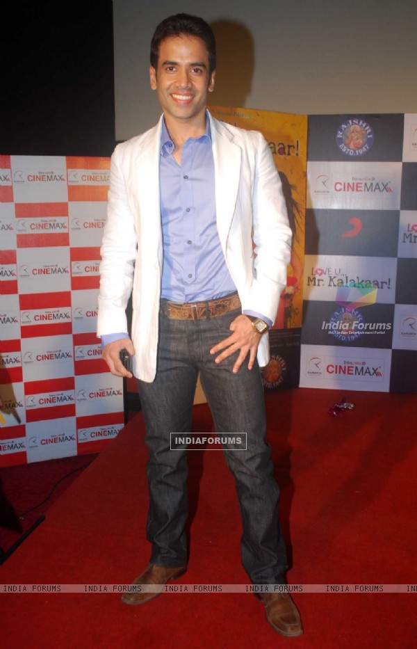 Tusshar Kapoor at Love U... Mr. Kalakaar! music Launch at Cinemax, Mumbai (130124)