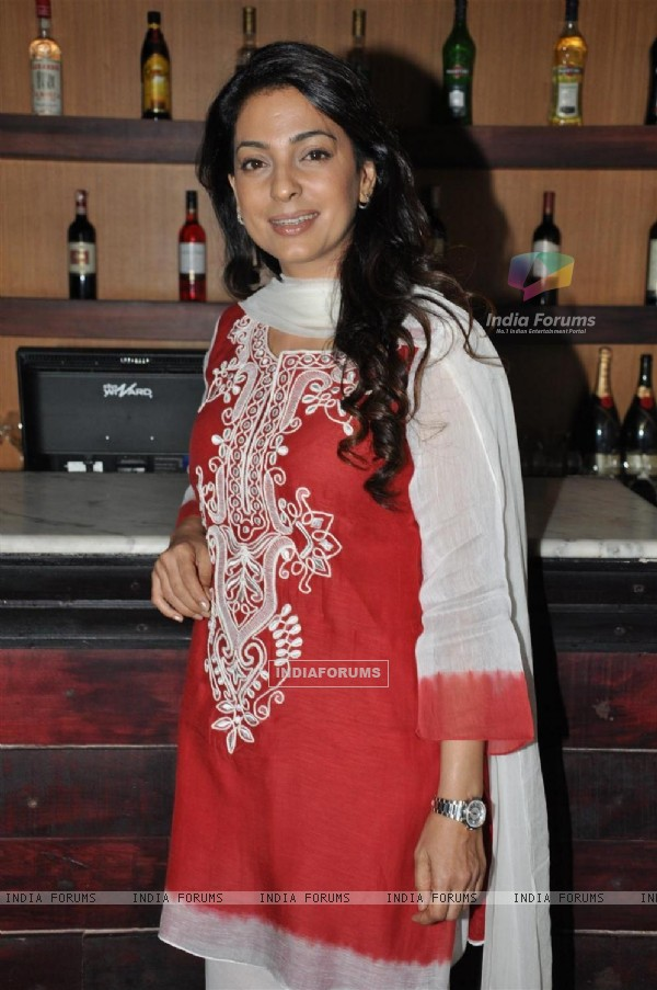 Juhi Chawla at music launch of film 'I Am'