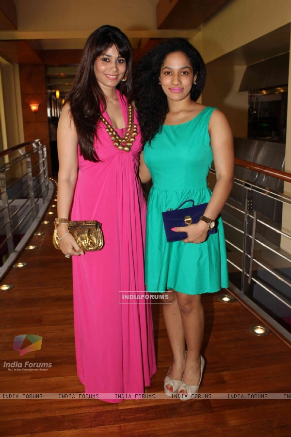 Masaba Gupta at Neeta Lulla collection showcase at JW Marriot