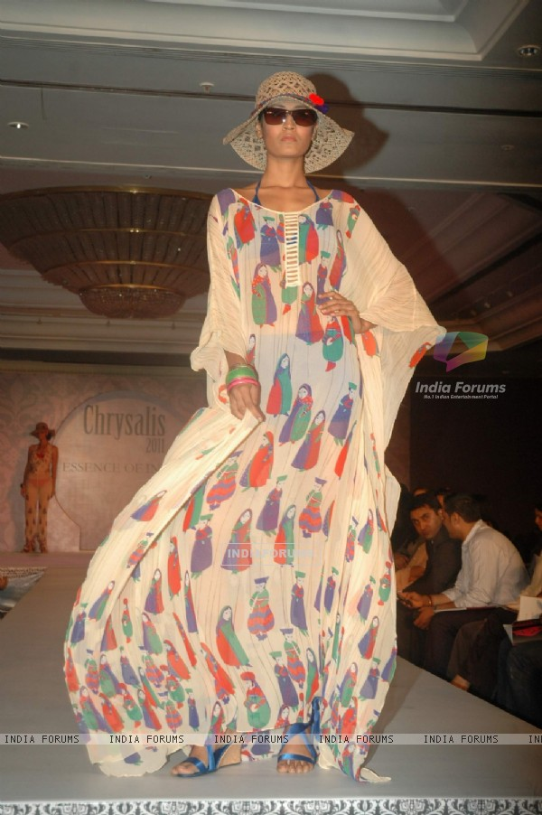 Models and Designers grace SNDT Chrysalis fashion show at lalit intercontinental