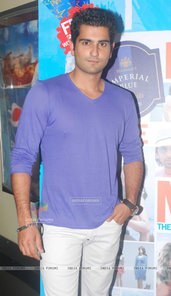Rahil Tandon at press conference of movie 'Men will be Men' at PVR Juhu
