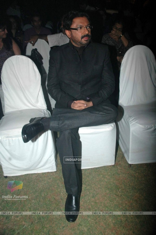 Sanjay Leela Bhansali at X Factor logo launch at Juhu Hotel. .