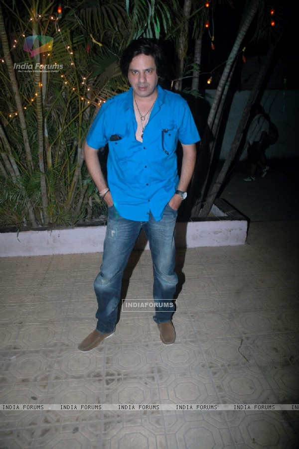 Rahul Roy at Debina Bonnerjee bday bash at Madh with Retro Theme