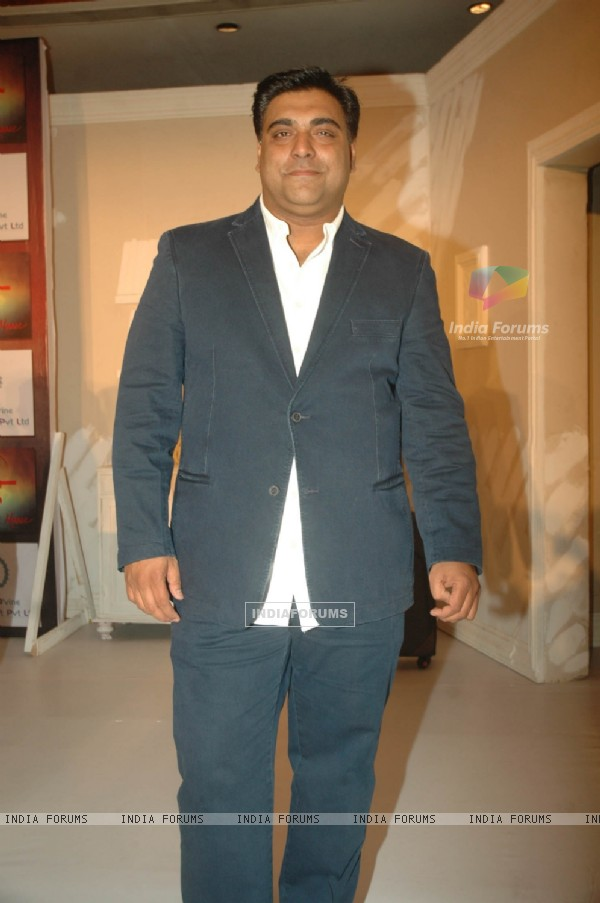 Ram Kapoor at the muhurat of the film Maaee in Mumbai.