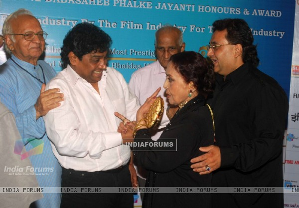 Johny Lever at Dada Saheb Phalke Awards Press Conference