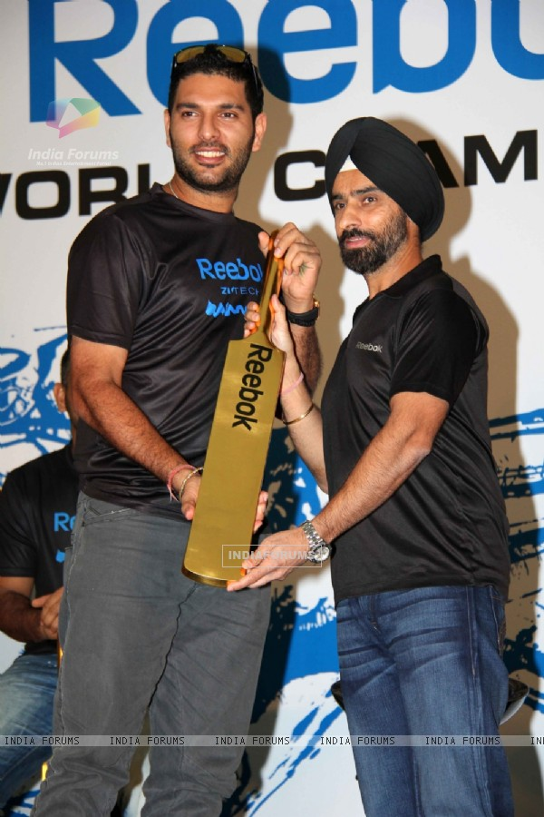 Reebok felicitates the World Cup winners Yuvraj Singh