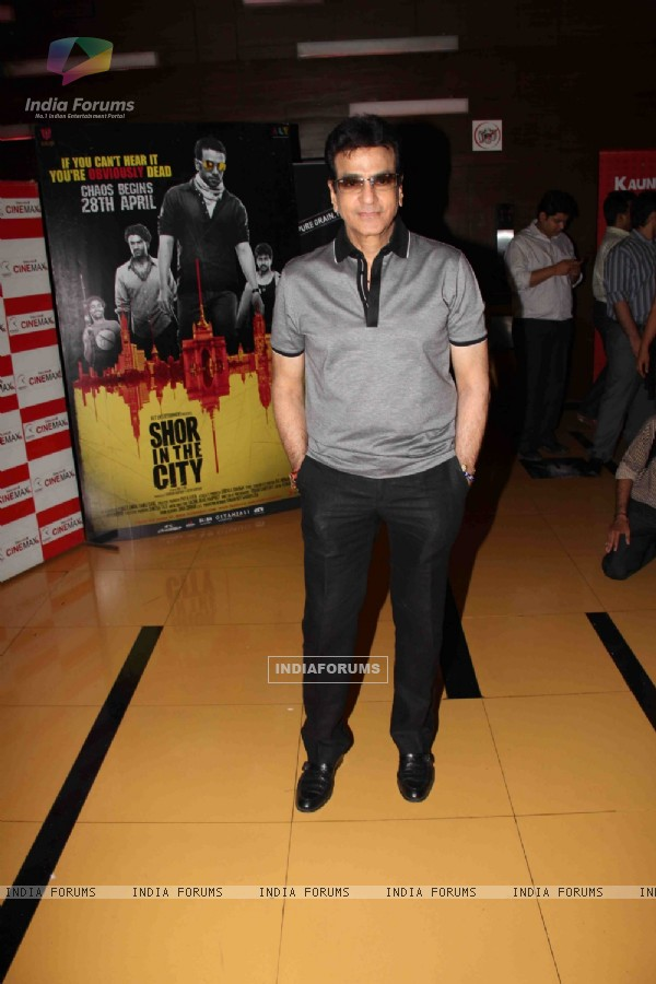 Jeetendra at premiere of movie 'Shor In The City'