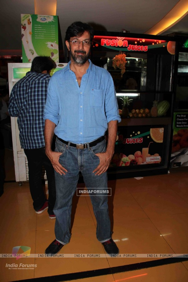 Rajat Kapoor at premiere of movie 'Shor In The City'