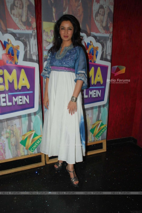 Tisca Chopra at Zee Cinema Kehl Kehl Mein promotional event at Bandra. .
