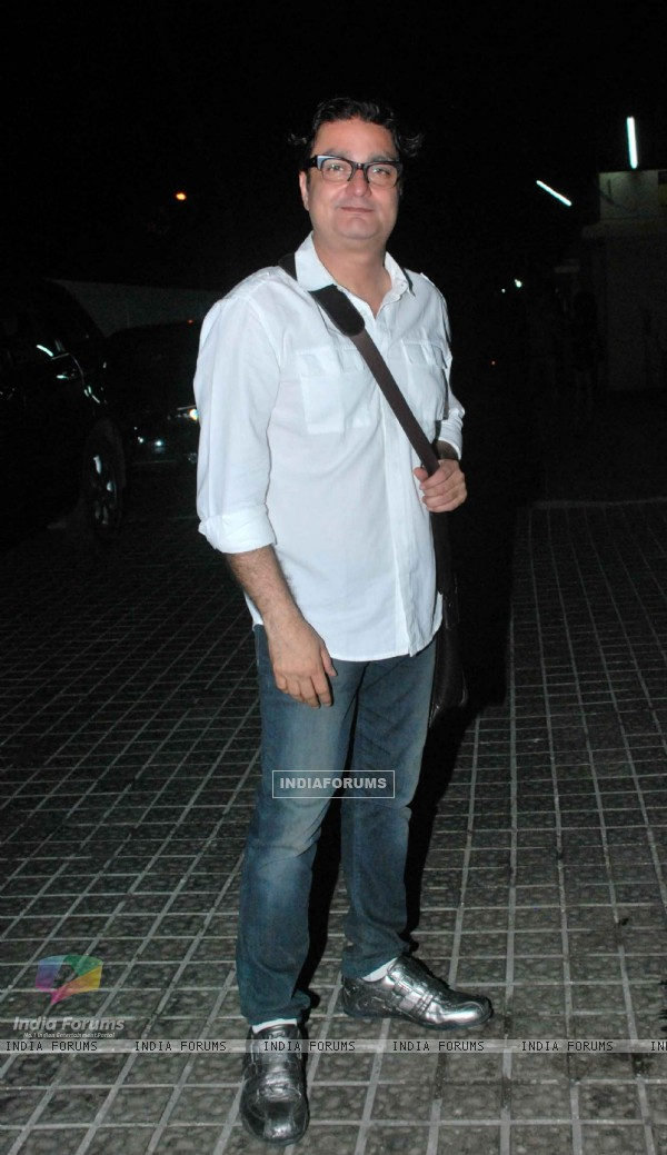 Vinay Pathak at screening of movie 'Chalo Dilli'
