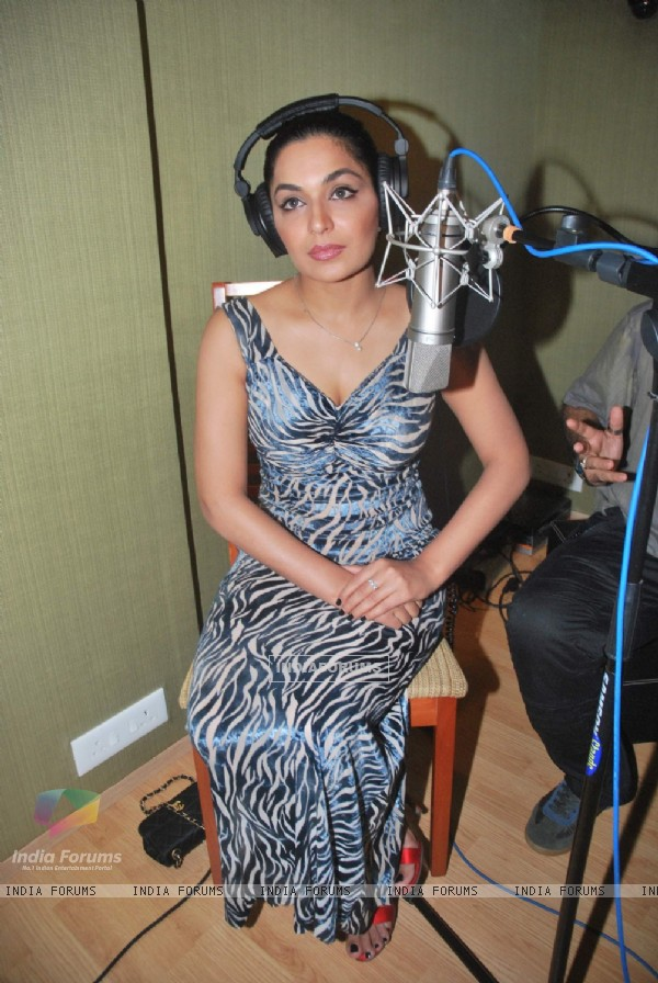 International Actress Meera Record and sing for the first time. .