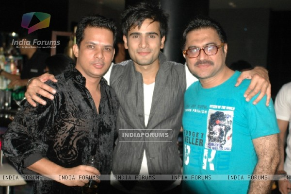 Karan Tacker and Aliraza Namdar at 'Rang Badalti Odhani' celebrates 300 episodes