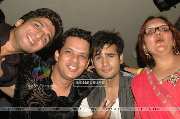 Karan Tacker and Manish Raisinghani at 'Rang Badalti Odhani' celebrates 300 episodes