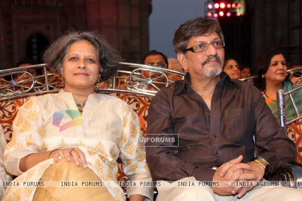 Amol Palekar at 48th Marathi Chitrapatt Puraskar Sohla at Gateway of India