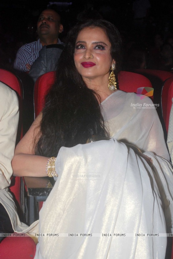 Rekha at Dada Saheb Phalke Awards