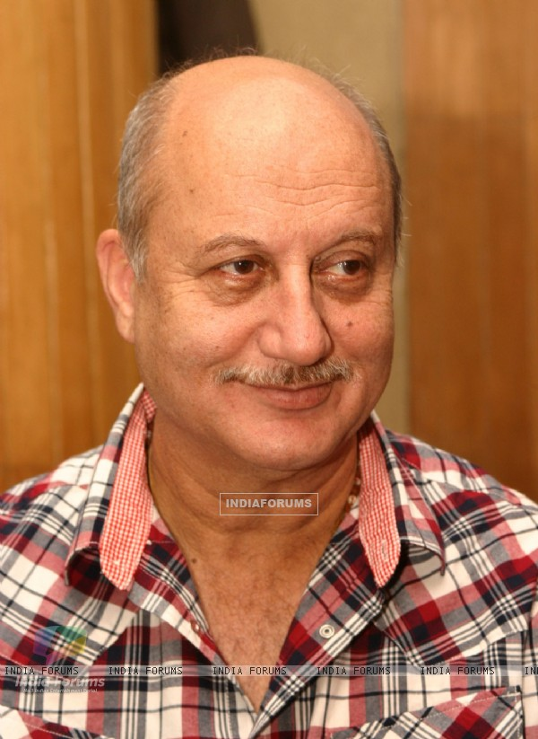 "Anupam Kher at the release of the book ""Broken Melodies "" in New Delhi"