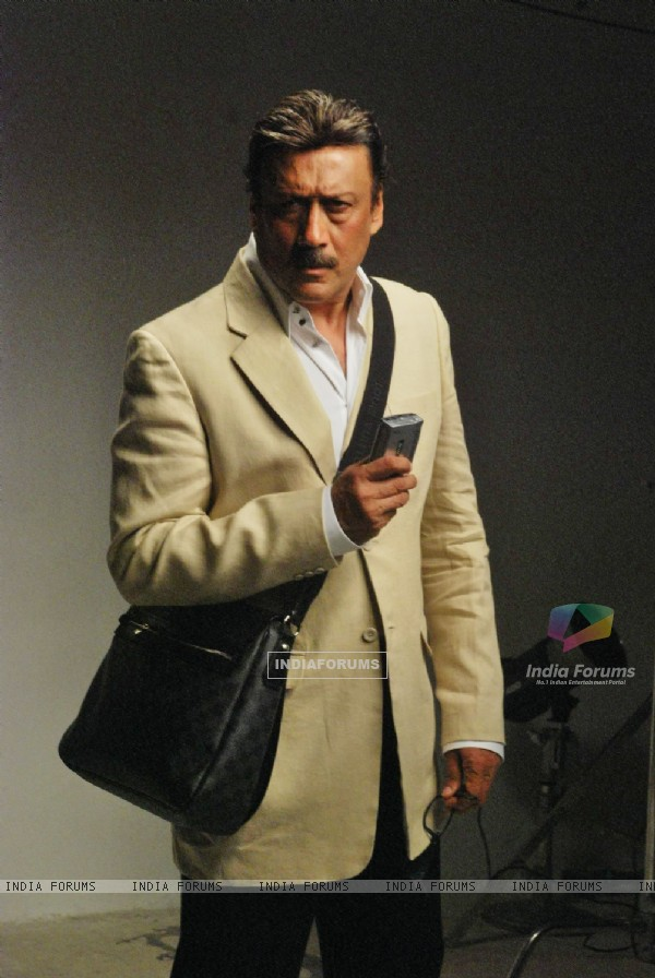 Jackie Shroff promote new film Coverstory at Mehboob, Bandra. .
