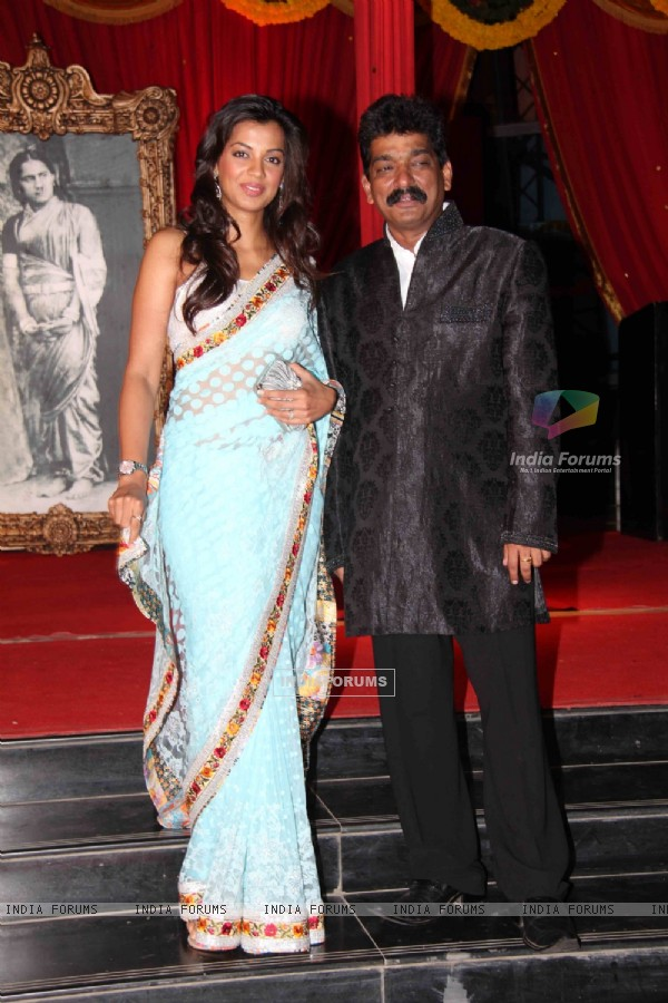 Mugdha Godse at premiere of movie 'Balghandarva'