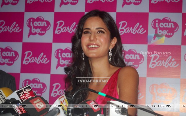 Katrina Kaif launches her Barbie doll at Andheri